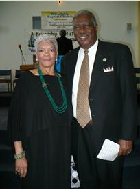 Rev and Mrs Sykes at the 2013 Pastoral Anniver.